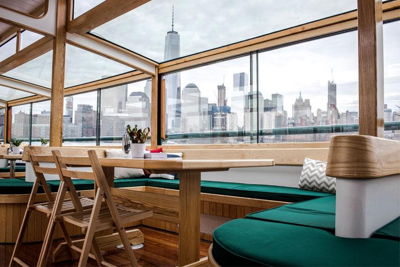 The Yacht Manhattan Ii Classic Harbor Line Motor Yacht
