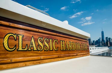 Classic Harbor Line boat cruises in NY Harbor