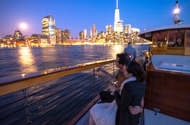 Champagne City Lights Cruise aboard Yacht Manhattan