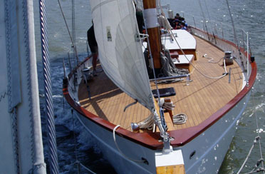 Columbus Day Weekend Schooner Race on Adirondack