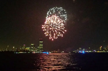 GayPride Fireworks aboard America 2.0
