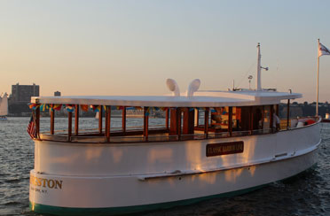 Sunset or City Lights Cruise on Yacht Kingston