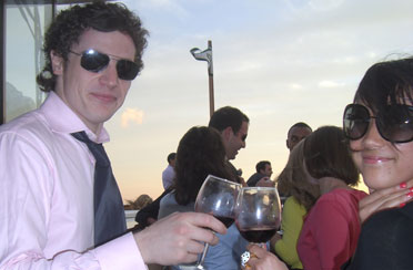 Private Wine Tasting on a classic boat in NY Harbor with your friends and family