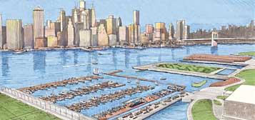Brooklyn Bridge Park Marina