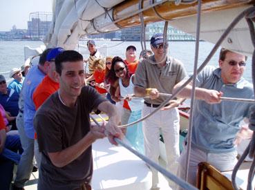NYC Sailing Team Builder