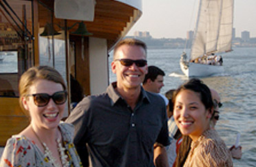 Private cruise in NY Harbor with your co-workers on a classic yacht or sailboat