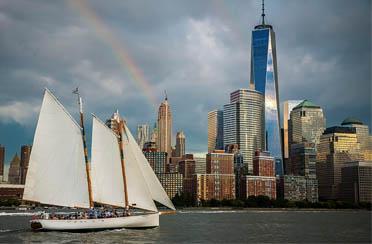 Adirondack Schooner Sailing NY Harbor