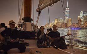 Live Jazz City Lights Sail