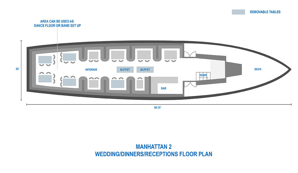 New York City Wedding Cruises Private Event Space Nyc Classic